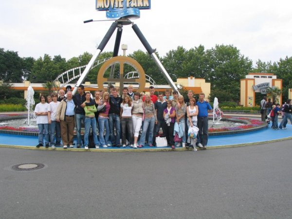 W Parku Rozrywki Movie Park Germany w Bottrop